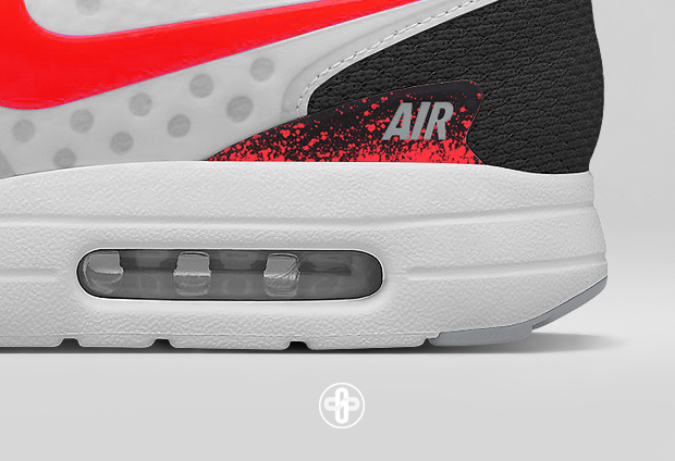 Air Max Zero Hot Lava By The Golden Shape