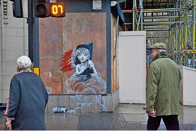 Banksy -Street Art Londres 2016