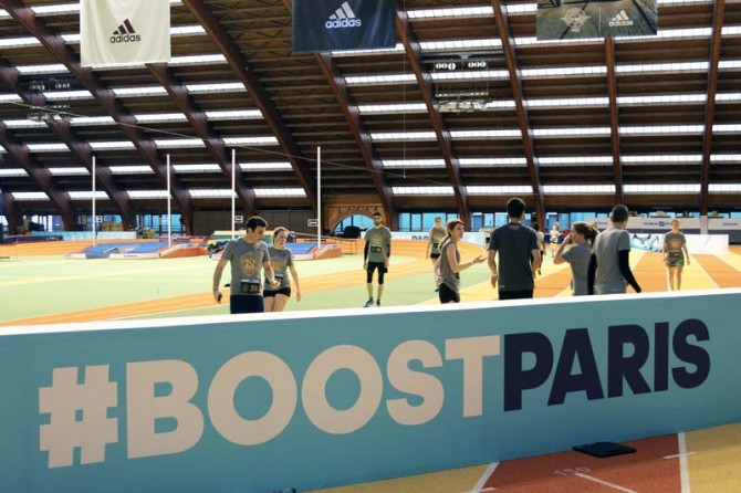 BoostParis à l'Insep