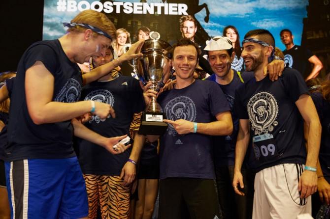 BoostSentier Vainqueur de la Boost Energye League Saison 2