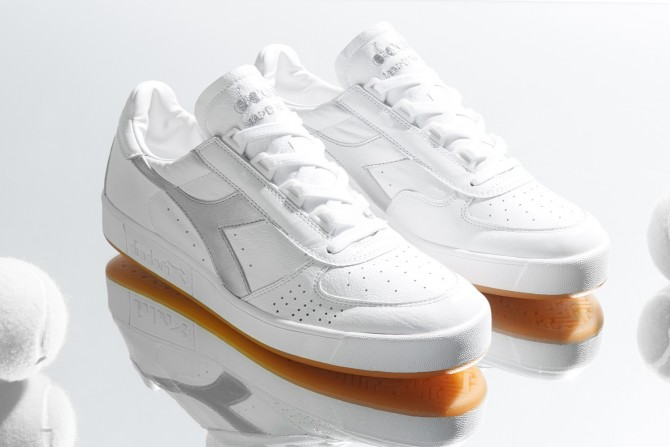 Diadora Borg Elite Argent Made in Italy