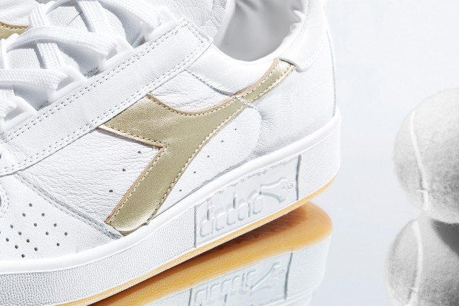 Diadora Borg Elite Gold Made in Italy