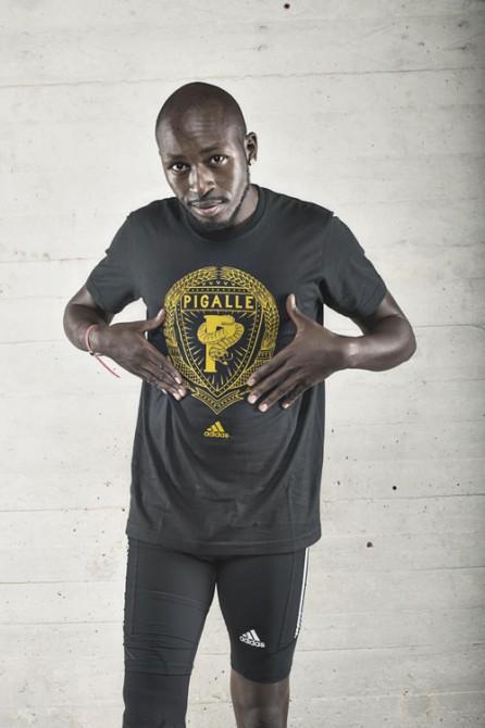 Jean-Baptiste Alaize Parrain de l'équipe BoostPigalle