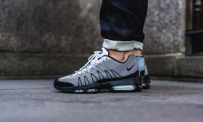 Nike Air Max 95 Ultra Jacquard Black White