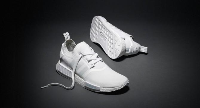Adidas NMD Runner Primeknit Triple White