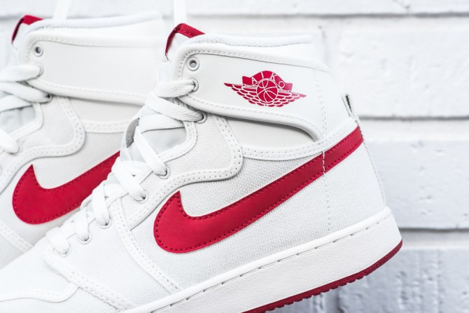 Air Jordan 1 KO High OG Sail Red 2016