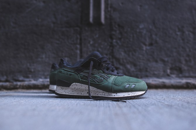 Asics Gel Lyte 3 Green After Hours Pack - Code H5P4L-7979