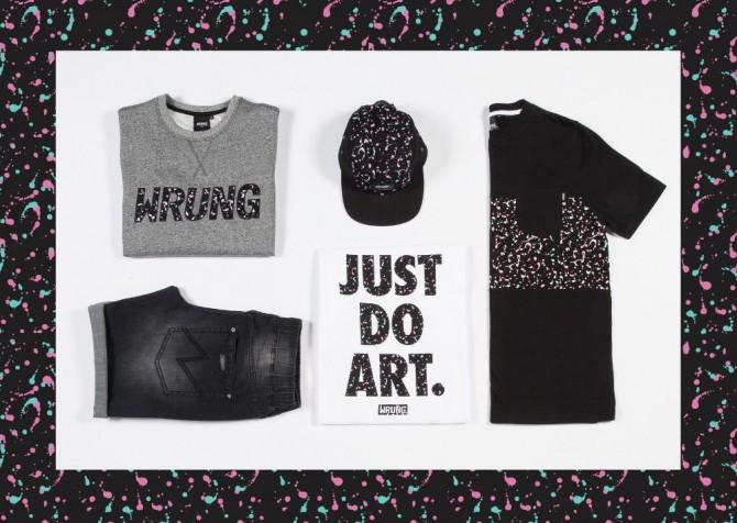 Lookbook Wrung just do art Printemps Eté 2016