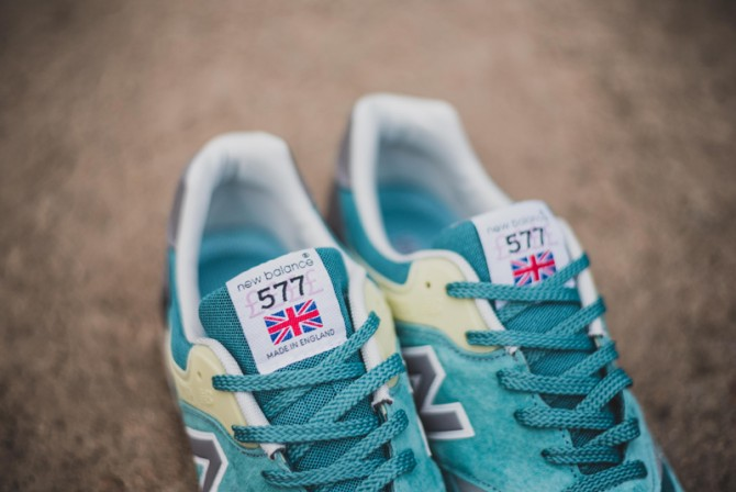 NEW BALANCE M577ETB ENGLISH TENDER BLUE 2