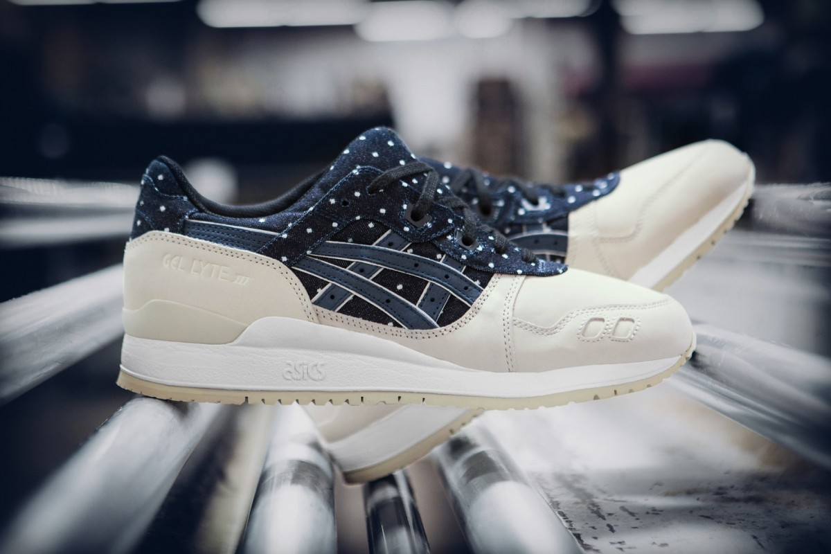 super popular 204f5 bb898 Asics Gel-Lyte 3 « Japanese Textile » | Sneak-art