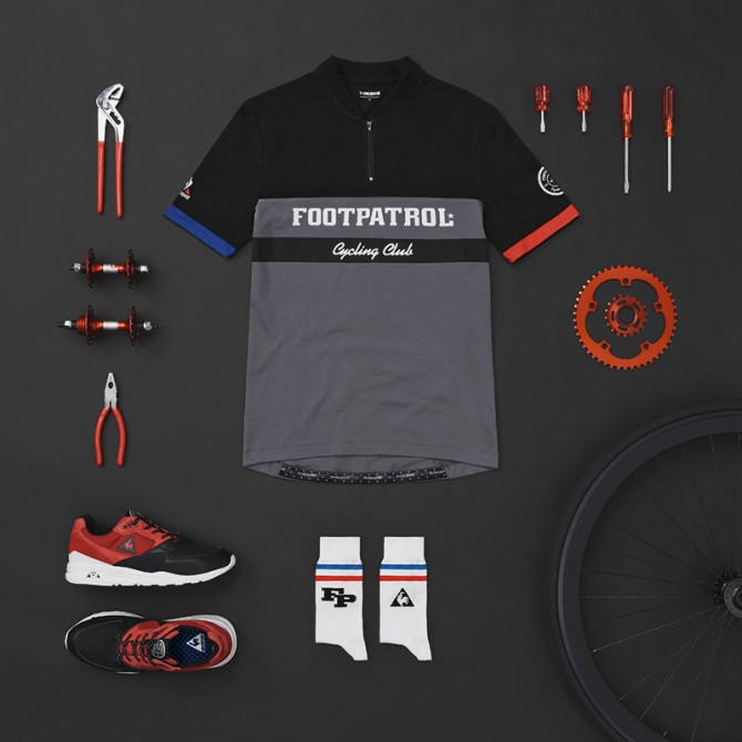 Footpatrol Le Coq Sportif Cycling Club Pack