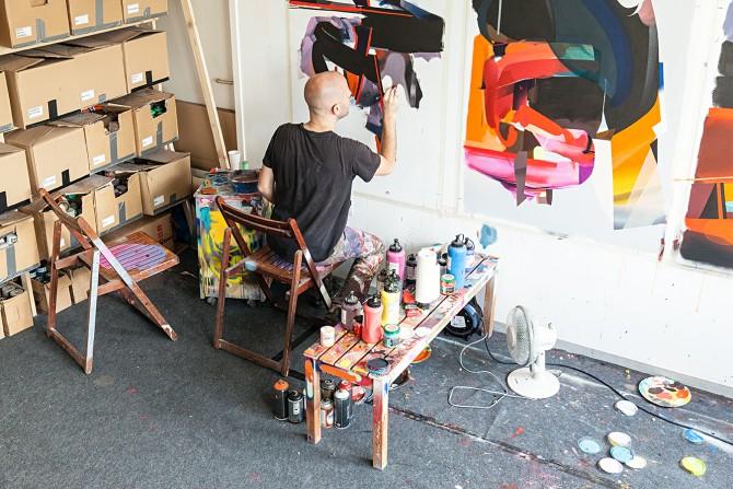 SatOne Graffiti Artist