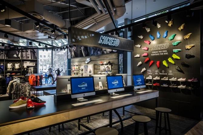 Studio NIKEiD au nouveau Nike Store du Forum des Halles