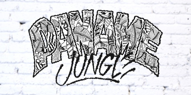 Logo Wrung Paname Jungle réalisé par le graphiste MPY Was Here