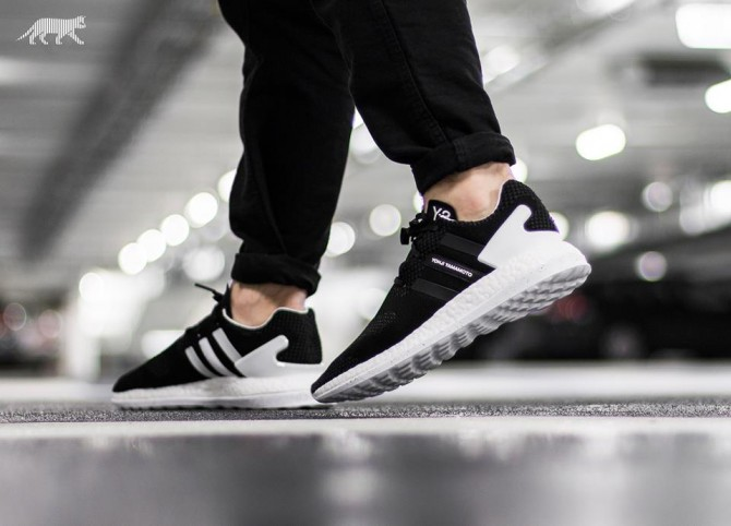 ADIDAS Y-3 PURE BOOST Core Black