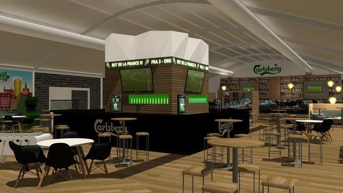 Carls lieu éphémère de Carlsberg à Paris