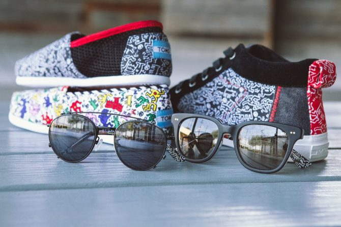 Collection TOMS Keith Haring