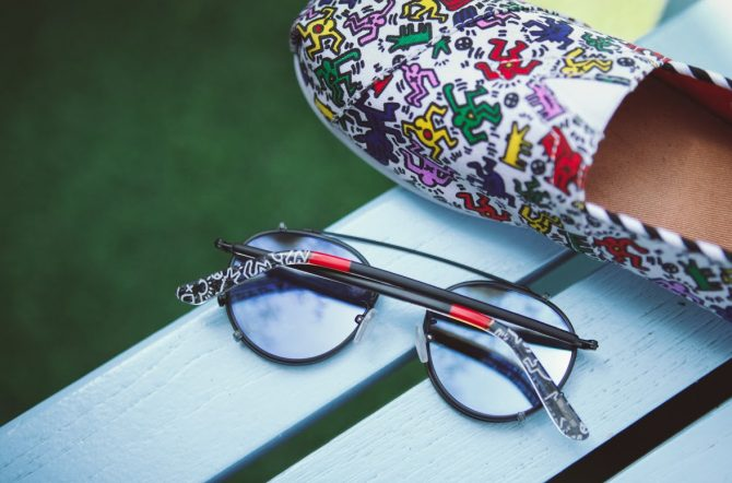 Lunettes TOMS Collection Keith Haring