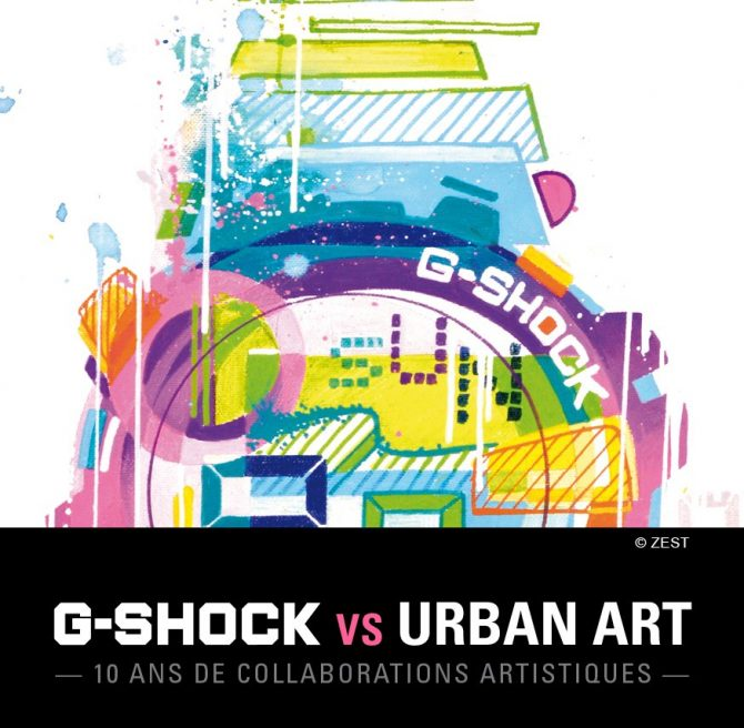 GShock Urban Art