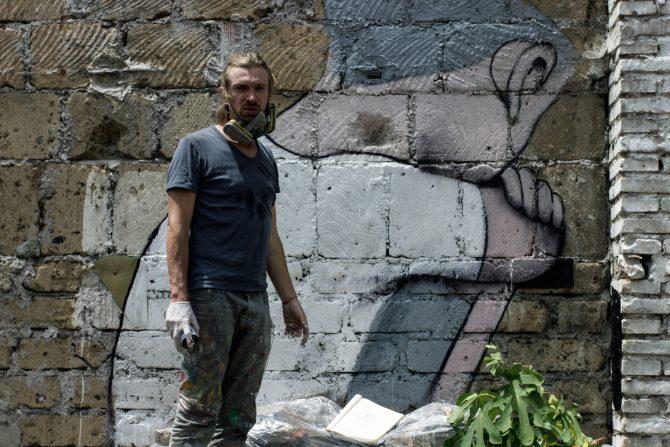 Julien Malland Seth Globe Painter Solo Show Rome