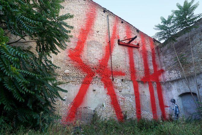 Seth Graffiti Rome Range ta Chambre