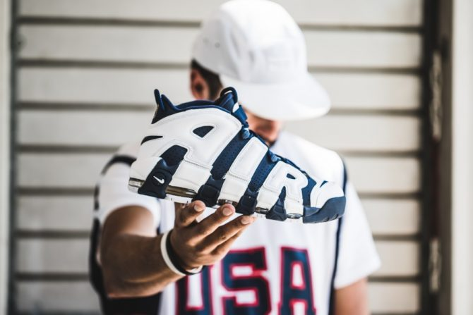"Nike Air More Uptempo ""Olympic"" Pack 2016"