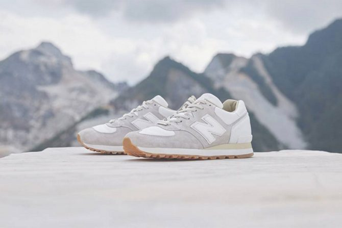 "New Balance M575 X END ""Marble White"""