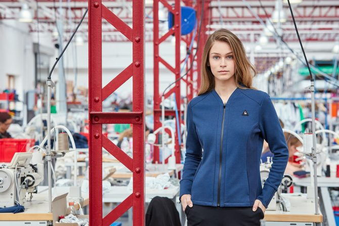 Le Coq Sportif Veste Femme Collection Stadium