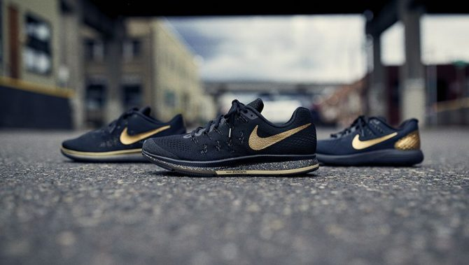 Nike Black and Gold Pack