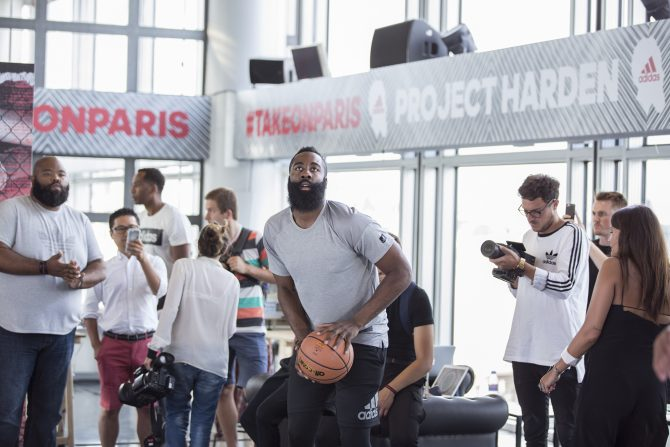 Take On Paris - James Harden