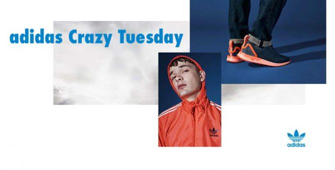 adidas crazy tuesday promotion