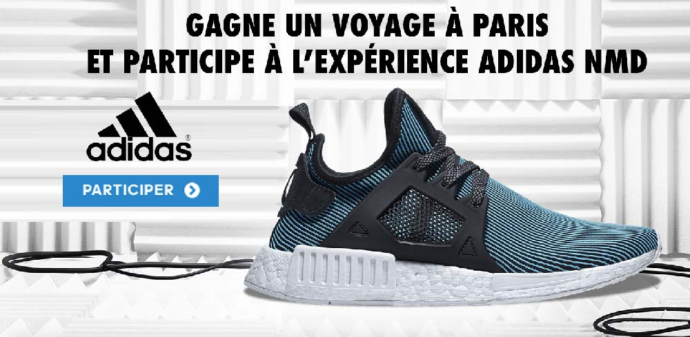 buy online f80d1 60b54 Jeu Concours adidas NMD XR1