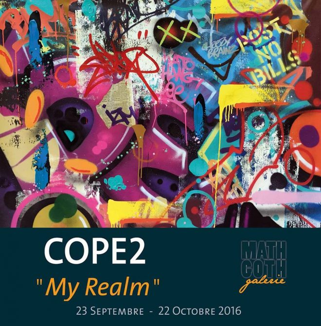 "Exposition COPE2 ""MY REALM"" à la Galerie Mathgoth"