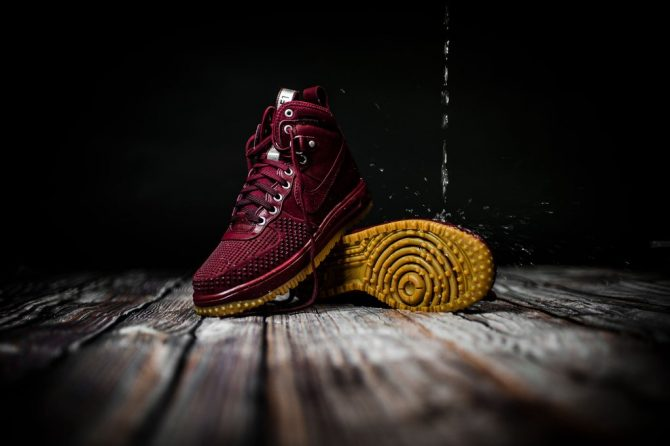 Nike Lunar Force 1 Duckboot Team Red