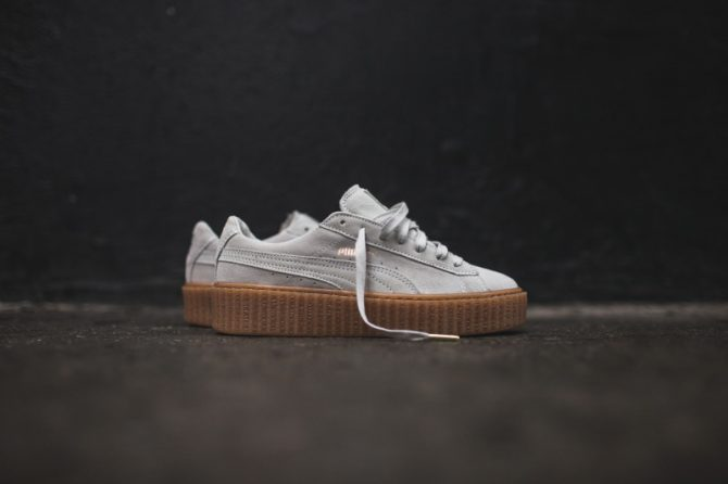 Puma Creeper by Rihanna White Oatmeal