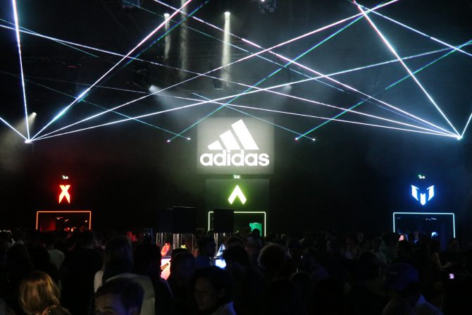 Soirée adidas Stadium of Lights
