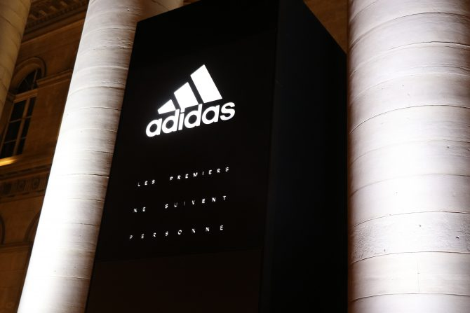 adidas Stadium of Lights au Palais Brongniart