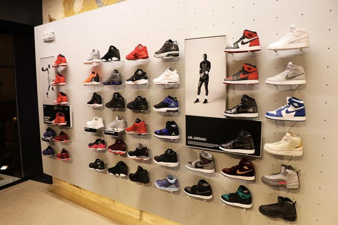 Espace Jordan Kids à la boutique