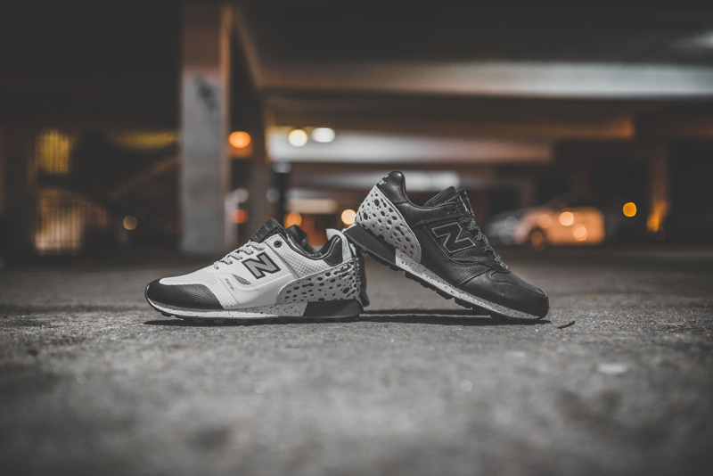 "New Balance Trailbuster x Undefeated ""Unbalanced"" Black and White"