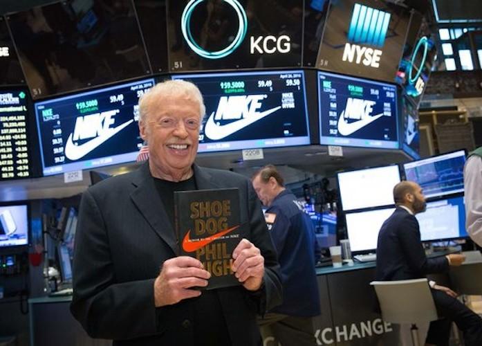 Shoe Dog l'autobiographie de Phil Knight le fondateur de Nike