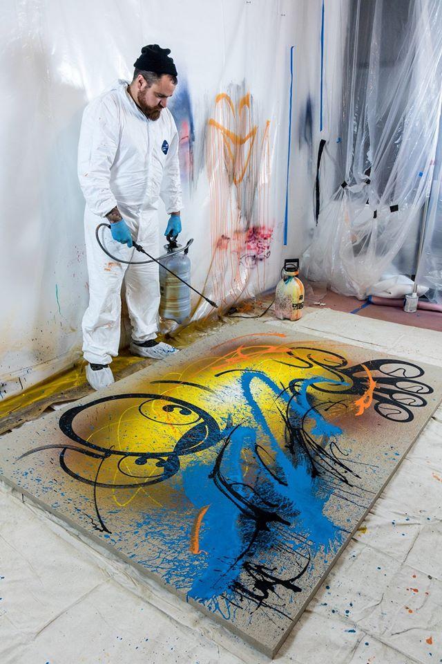 RIME street artist