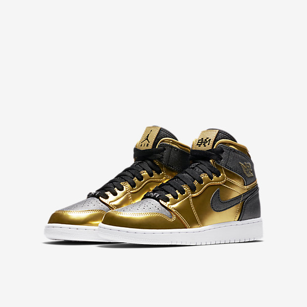 Air Jordan 1 Retro High GS BHM 2017 909805-700