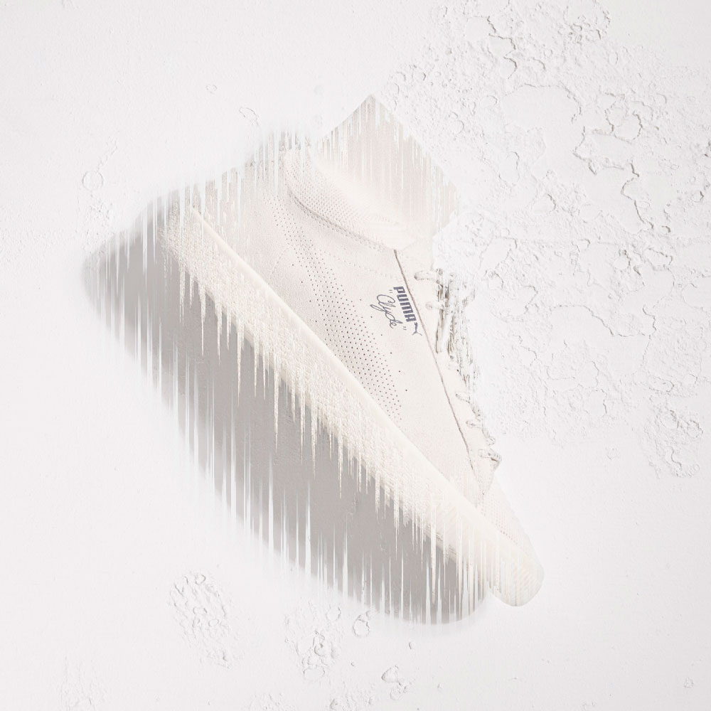 PUMA Clyde Sock collaboration avec BLACKRAINBOW