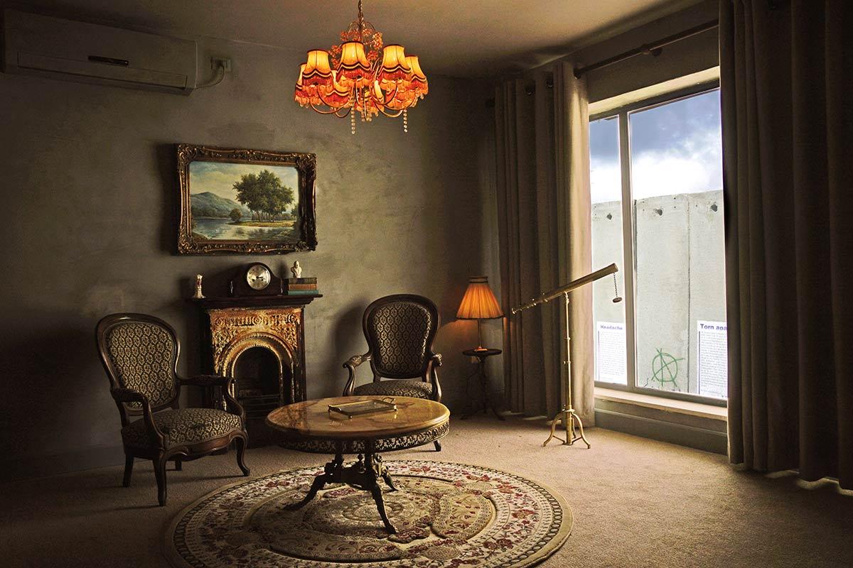 banksy chambre hotel